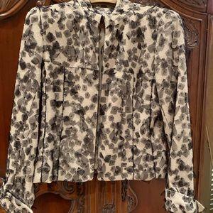 Carlisle silk blend jacket
